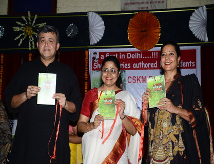 Delhis First Book Launch - Short stories authored by students