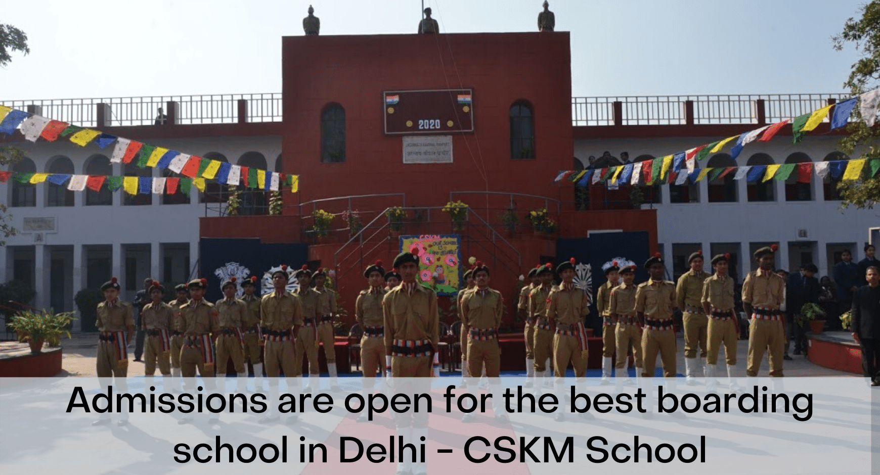 Admissions are open for the best boarding schools in Delhi