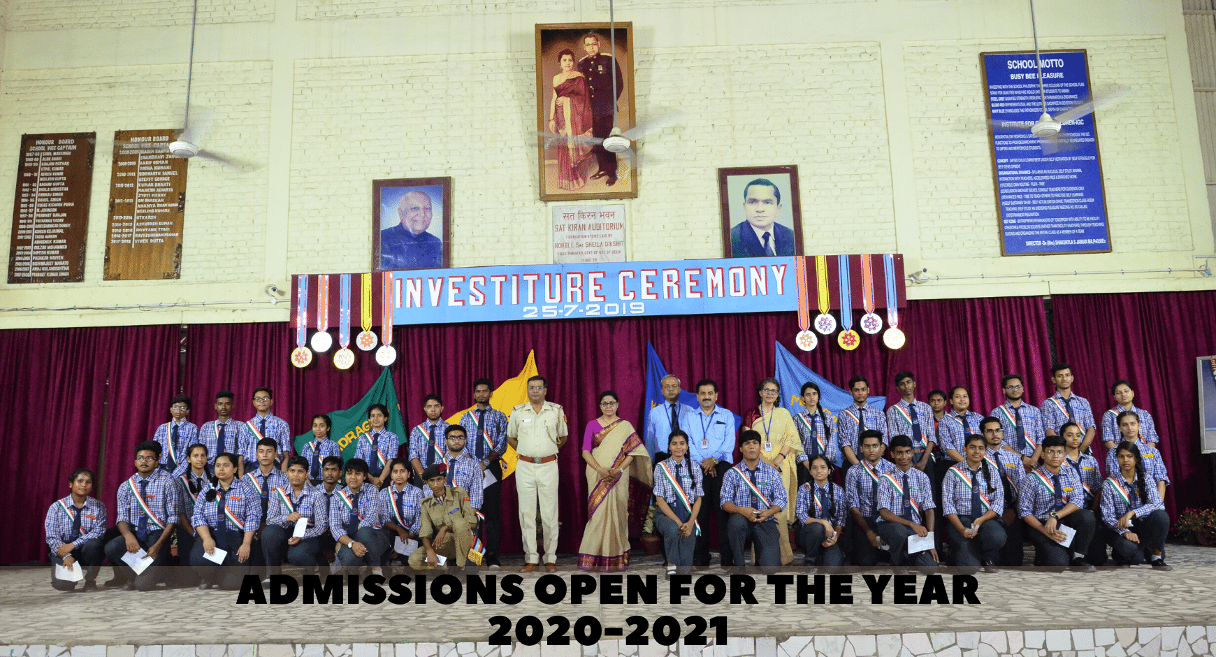 Admissions Open for the Year 2020-2021 - CBSE Boarding & Day Boarding School