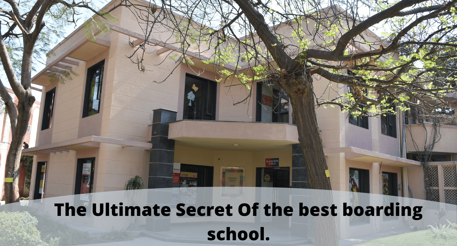The Ultimate Secret Of the Best Boarding School