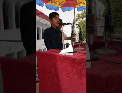 Independence Day Speech by Alex (Class 4) of CSKM Public School
