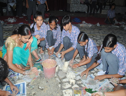 Spic Macay Paper Mache Workshop